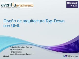 Diseño de arquitectura Top-Down con UML