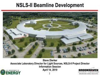NSLS-II Beamline Development
