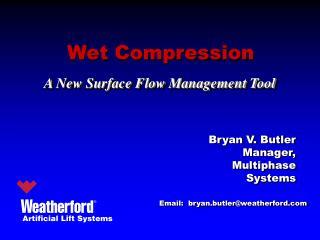 Wet Compression