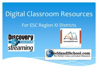Digital Classroom Resources
