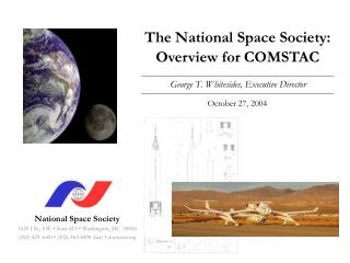 The National Space Society: Overview for COMSTAC