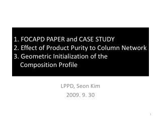 LPPD, Seon Kim 2009. 9. 30