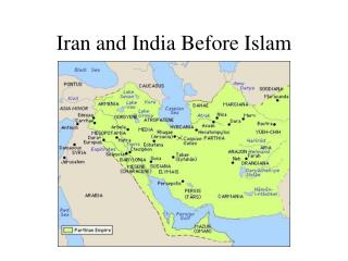 Iran and India Before Islam