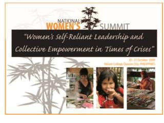 Why a National Women's Summit?