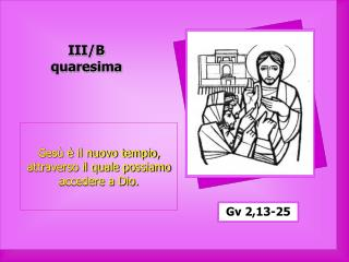 III/B quaresima