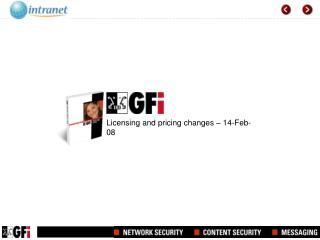 Licensing and pricing changes – 14-Feb-08