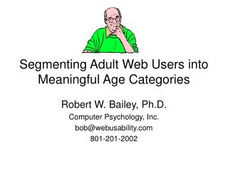 Segmenting Adult Web Users into Meaningful Age Categories