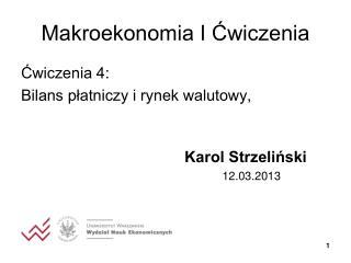 Makroekonomia I ?wiczenia