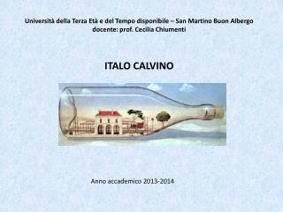 Anno accademico 2013-2014