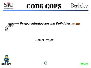 Project Introduction and Definition -Senior Project-