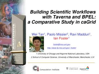 Building Scientific Workflows with Taverna and BPEL:  a Comparative Study in caGrid