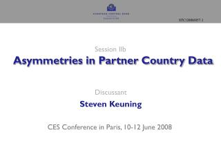 Session IIb   Asymmetries in Partner Country Data
