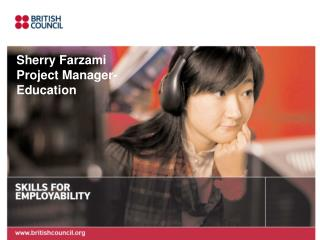 Sherry Farzami Project Manager- Education