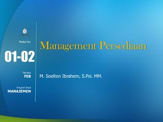 Management  Persediaan