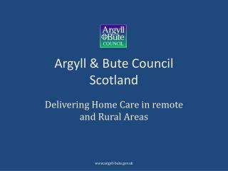 Argyll & Bute Council Scotland