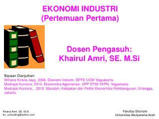 Fakultas Ekonomi Universitas Abulyatama Aceh