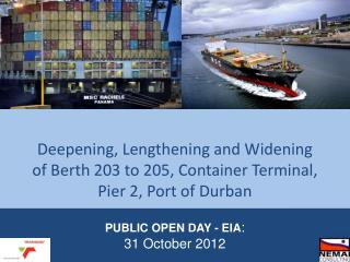 PUBLIC OPEN DAY - EIA : 31 October 2012