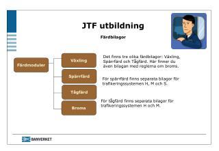 JTF utbildning Färdbilagor