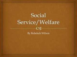 Social Service/Welfare