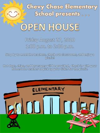 Chevy Chase Elementary School presents . . .