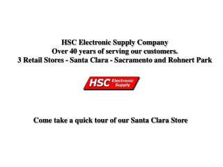HSC Electronic Supply Company Over 40 years of serving our customers.