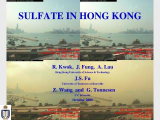 SULFATE IN HONG KONG