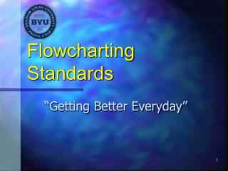 Flowcharting Standards