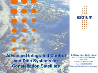 Advanced Integrated Control and Data Systems for Constellation Satellites