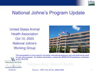 National Johne's Program Update