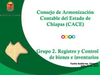 Consejo de Armonizaci�n Contable del Estado de Chiapas (CACE )