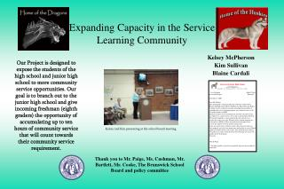 Expanding Capacity in the Service Learning Community