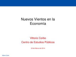 Nuevos Vientos en la Economía