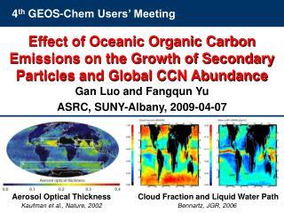 4 th  GEOS-Chem Users' Meeting
