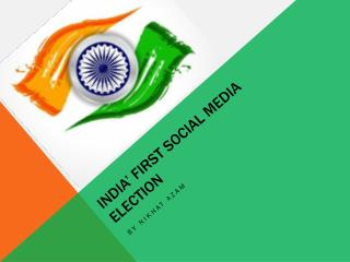 India' First Social Media Election