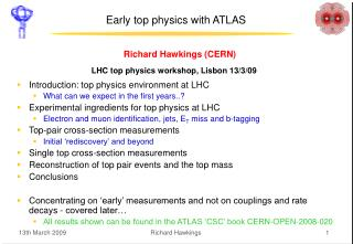 Early top physics with ATLAS