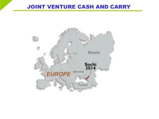 JOINT VENTURE CASH AND CARRY