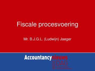 Fiscale procesvoering
