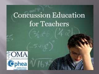 Quick Concussion Facts
