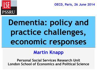 Martin Knapp Personal Social Services Research Unit