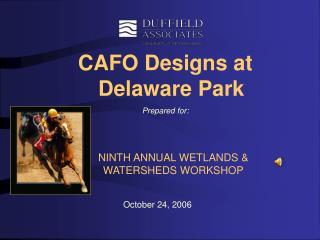 CAFO Designs at Delaware Park Prepared for: