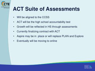 ACT Suite of Assessments