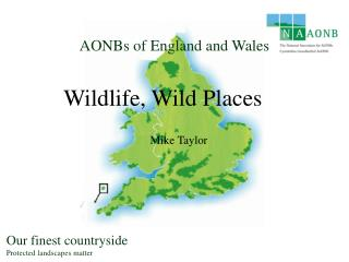 AONBs of England and Wales