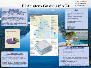 El Acu�fero Guaran� (SAG)