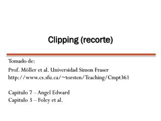 Clipping ( recorte )