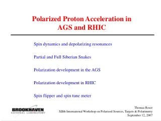 Polarized Proton Acceleration in AGS and RHIC