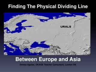 Finding The Physical Dividing Line