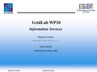 GridLab WP10