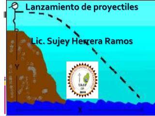 Lanzamiento de proyectiles Lic.  Sujey  Herrera Ramos