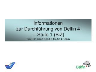 Aufgabenbereiche Stufe 1 - BiZ