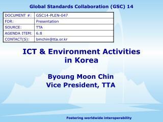 ICT  Environment Activities